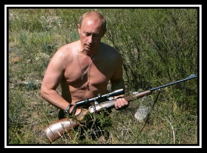 President Putin, the manly man