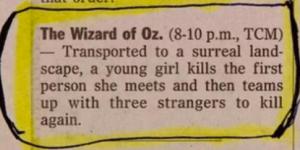 Synopsis Oz