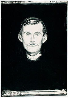 Edvard_Munch. Self-Portrait