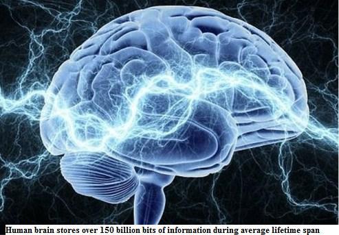 150 trillion bits of info