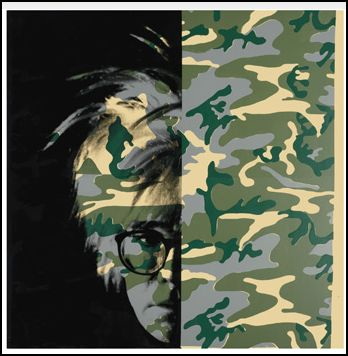 Andy Warhol Camouflage Self-Portrait 1986 Hammer Price with Buyer's Premium: 6,997,000 USD
