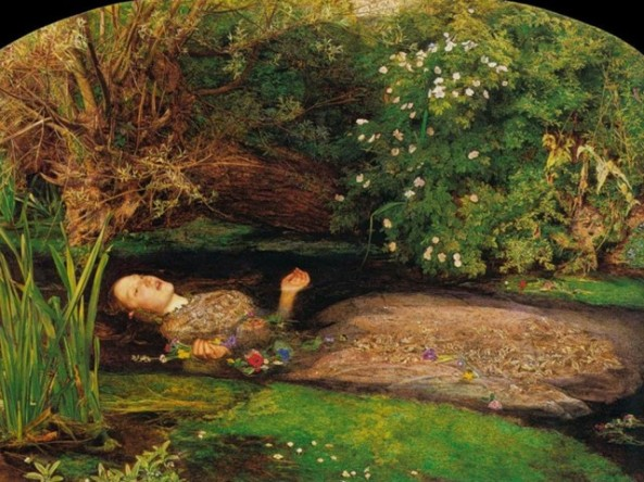 OPHELIA by Sir John Everett Millais,