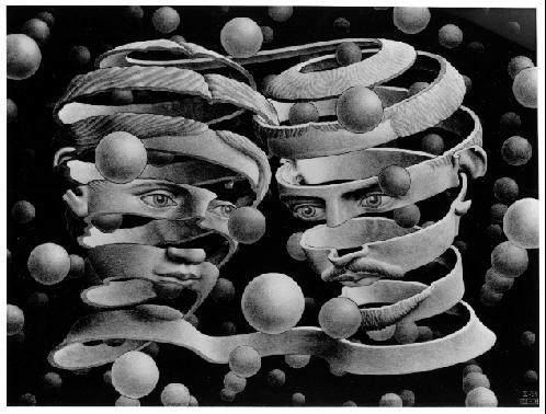 M.C. Escher. Bond of Union