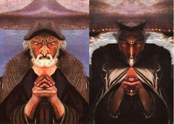 The Old Fisherman. Mirror, Mirror.