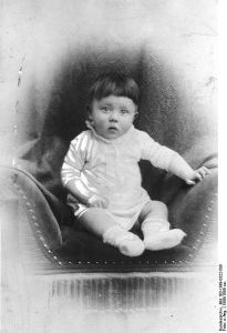 Fuhrer as an infant