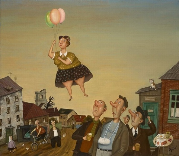 Painting by Valentin Gubarev