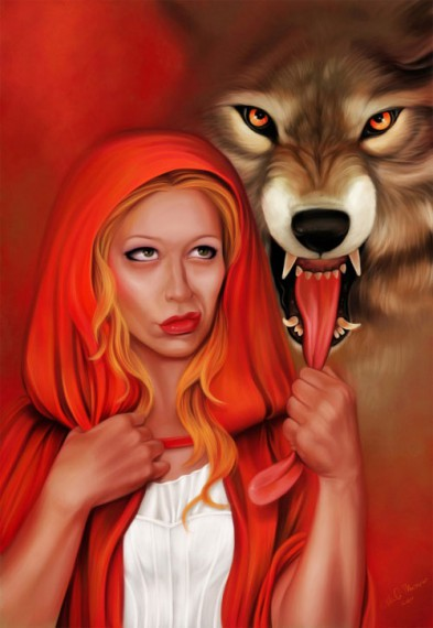 Red riding hood meet and fuck