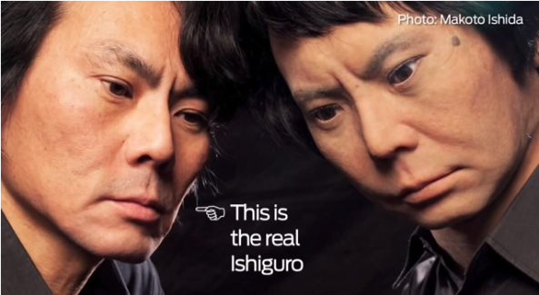 Dr. Ishguro and Dr. Ishiguro-Android