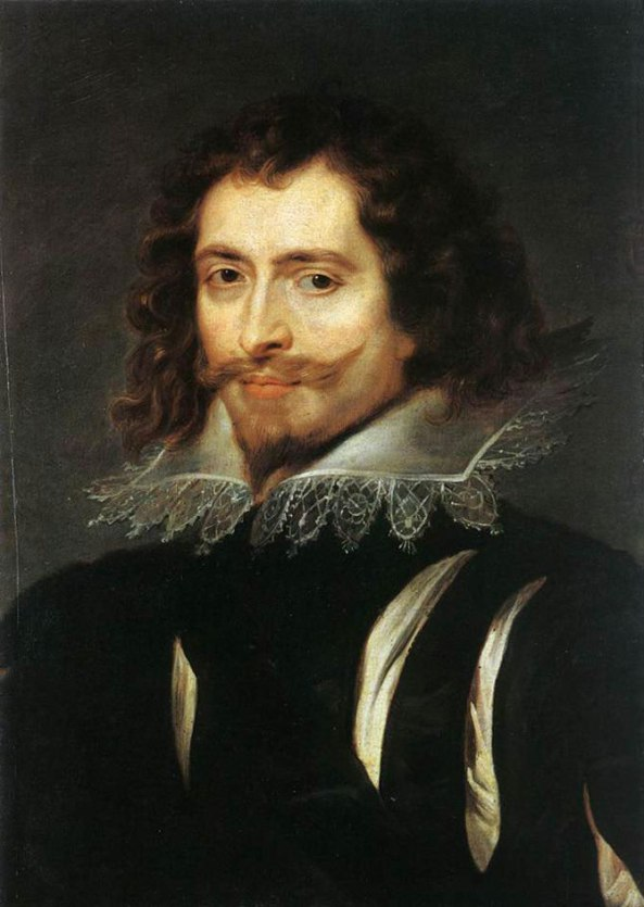 Peter Paul Rubens. Portrait of George Villiers, 1st Duke of Buckingham. 1625