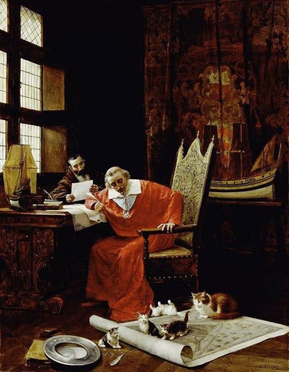 Charles Édouard Delort (1841–1895) The Cardinal's Leisure