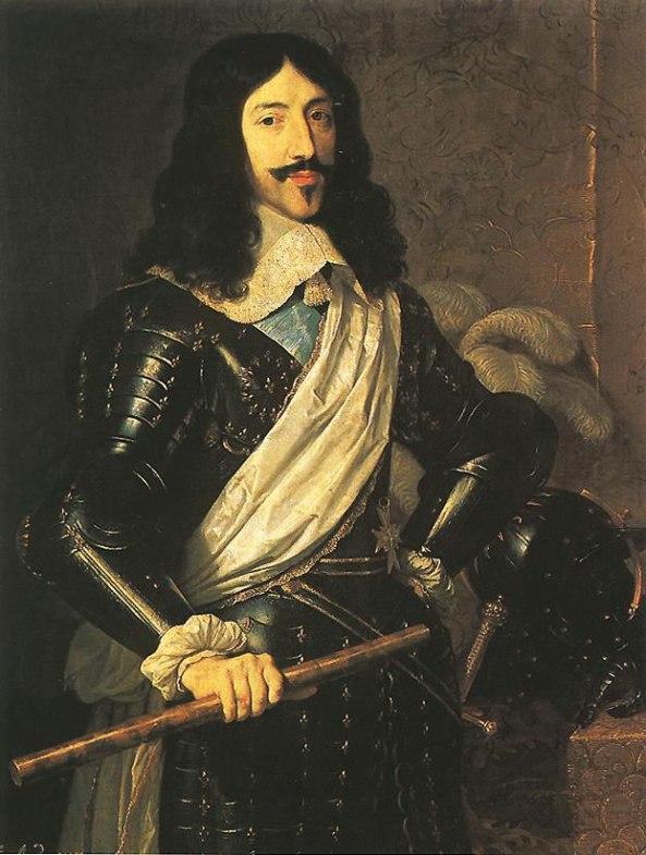Philippe de Champaigne. Louis XIII. 1665