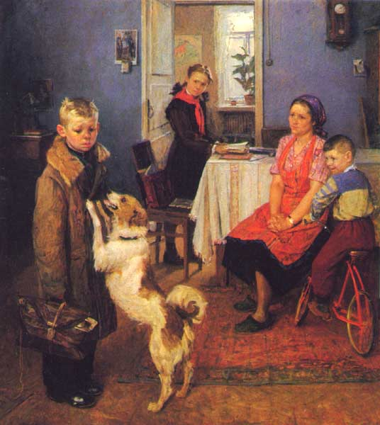 """F. Reshetnikov (1886-1988) """"F"""" Again?!"""