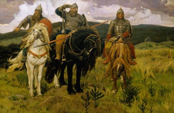 V. Vasnetsov (1848-1926) Bogatyrs.