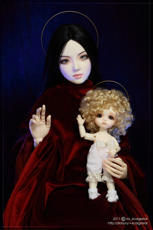 Madonna and Child by Scargeear on deviantART