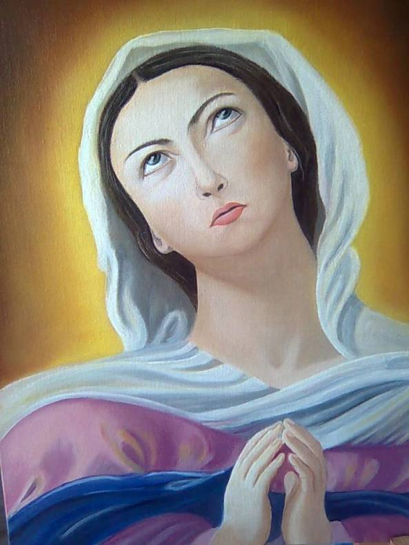 S. G. Bannikova. Virgin Mary