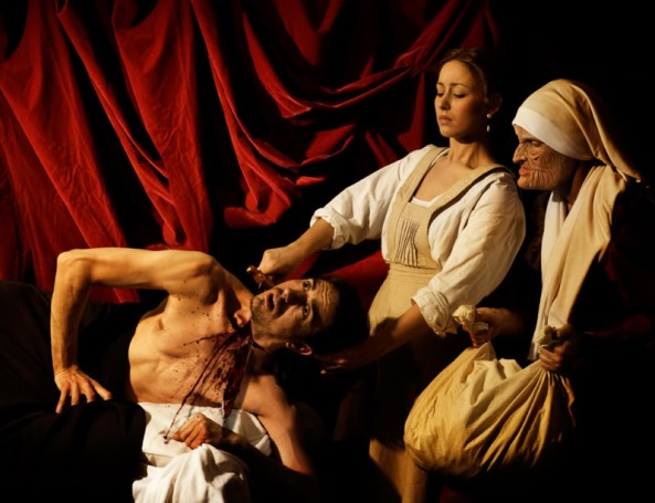 Caravaggio. Judith Slaying Holofernes