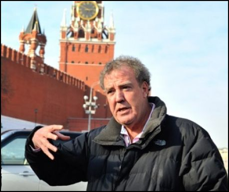 Jeremy Clarkson in Moscow