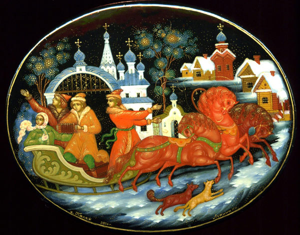 Russian miniature8 & art of Russian miniature painting | Contra Spem Spero... Et Rideo