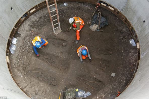 According to the archaeologist Jay Carver, Analysis of the Crossrail find has revealed an extraordinary amount of information allowing us to solve a 660-year mystery