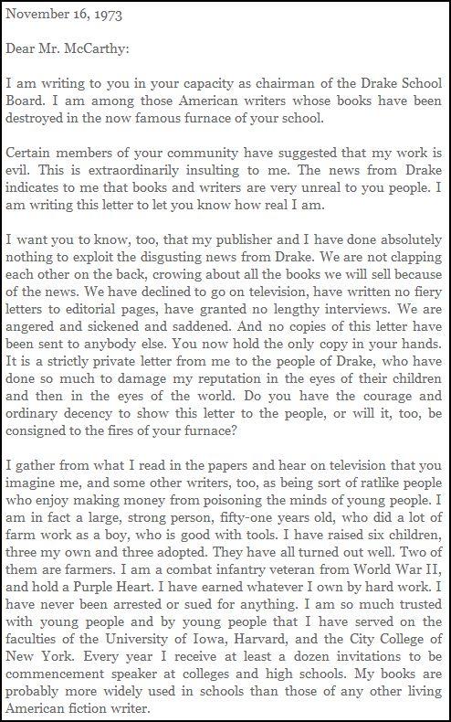 KV Letter