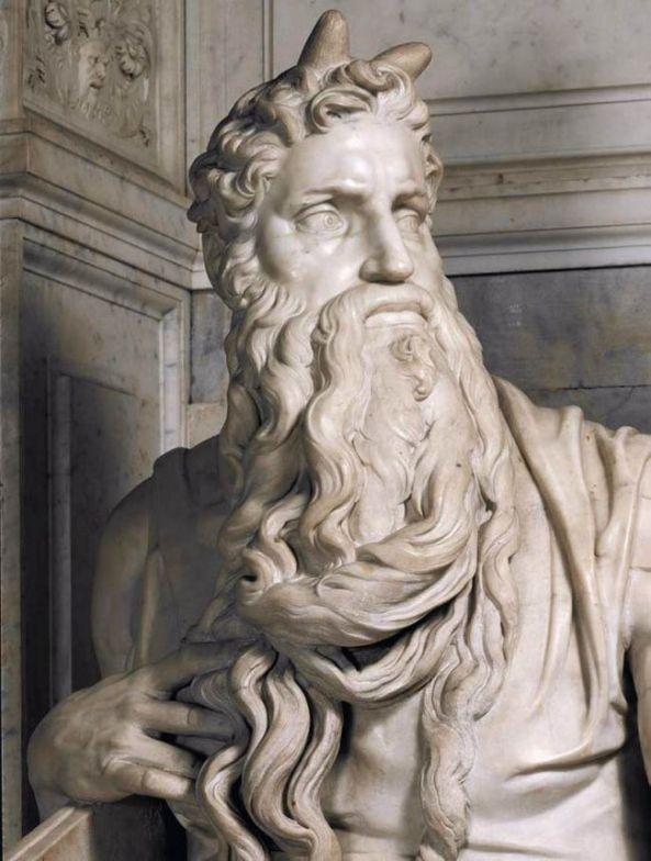 Michelangelo. Moses (1513-1515)