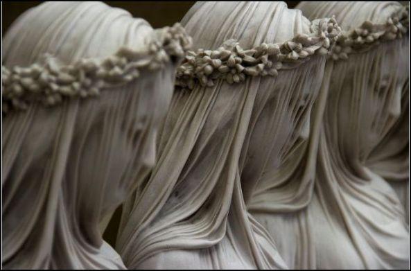 Raffaele Monti. Veiled marble