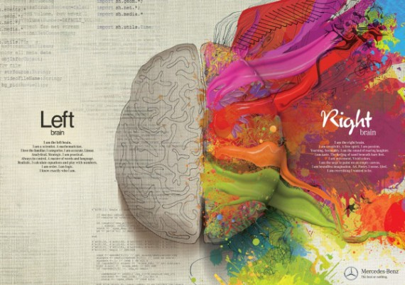 brain left right