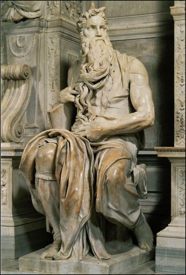 Michelangelo. Moses