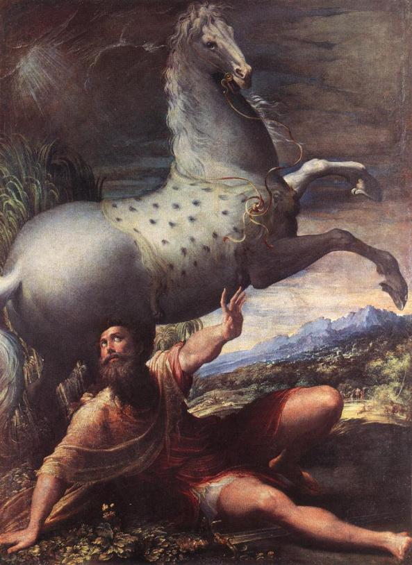 Parmigianino. Conversion of St. Paul. 1528