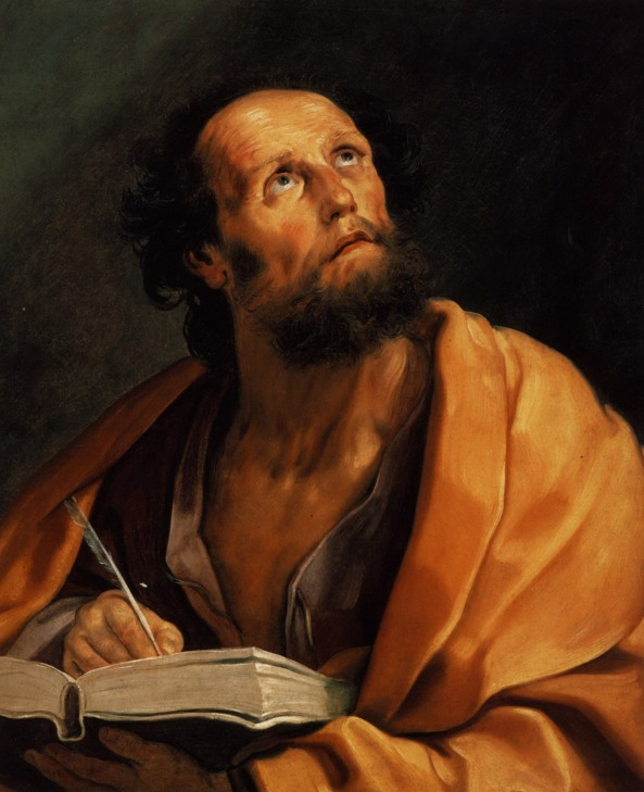 Saint Luke - Guido Reni. Artist: Guido Reni. Completion Date: 1621