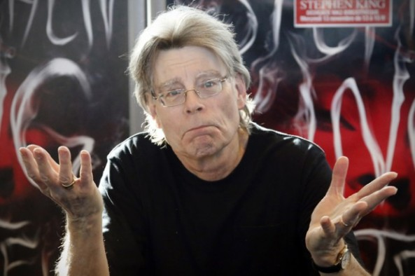 Stephen King. Credit: AP/ Francois Mori