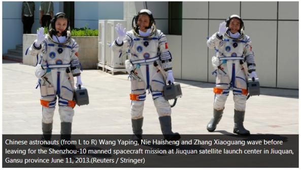 Chineese Astronauts