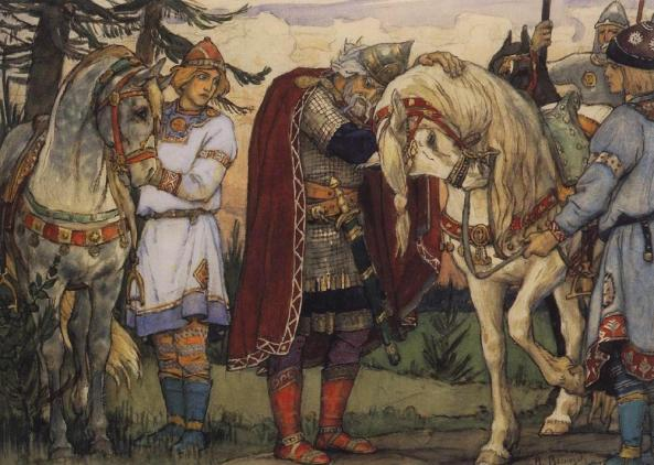 Oleg the Prophet by Victor Vasnetsov