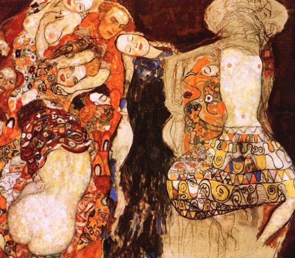 Klimt. The Bride.