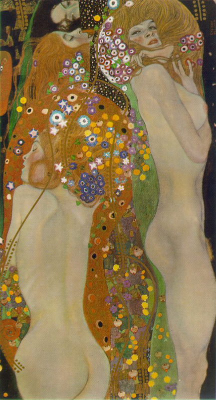 Klimt. Water Serpents.