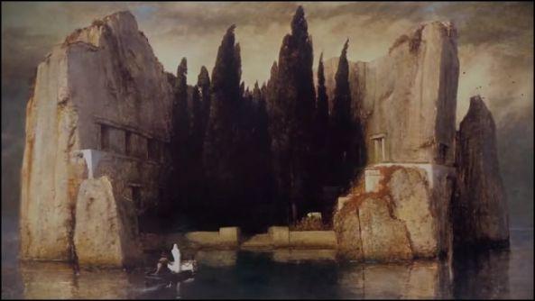 """ARNOLD BÓCKLIN (1827-1901) """"Isle of the Dead"""""""