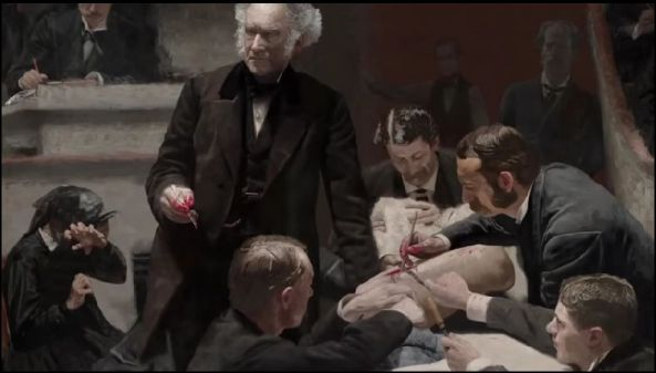 The Gross Clinic, or, The Clinic of Dr. Gross, is an 1875 painting by American artist Thomas Eakins.