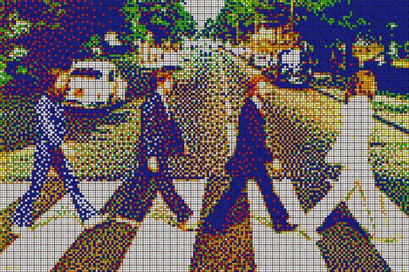 Abbey Road, 2,400 Cubes