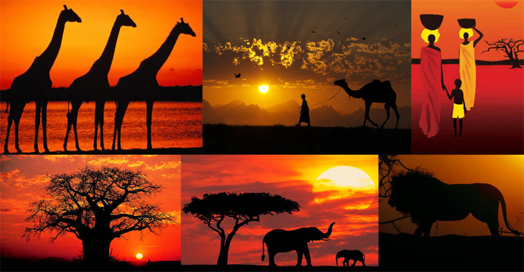 Red dress 1946 symbolism giraffe