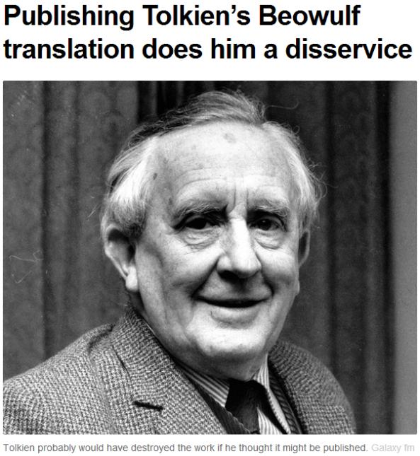 Disservise to Tolkien