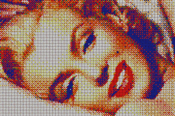 Allure (large), 2,400 Cubes