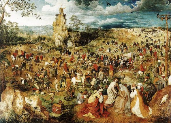 Bruegel The Elder, The Mill, The Cross...