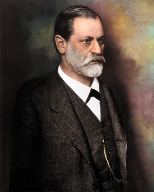 Waist-Up Photo Of Sigmund Freud