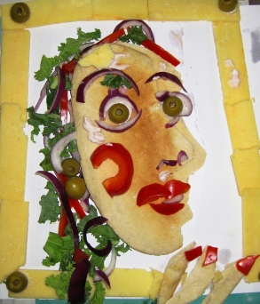 Edible version of Dora Maar.