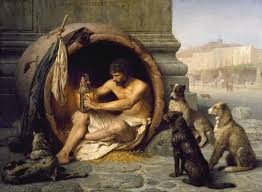 Diogenes of Sinope was a Greek philosopher and one of the founders of Cynic philosophy.