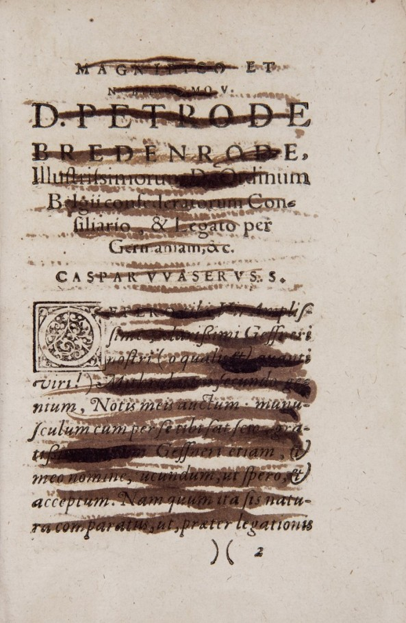 "The title page of the book published in 1610 says, ""Mithridates by Gesner -- a learning experience in different languages​​, both ancient and modern,  those that are on all the earth. Issued and interspersed comments Vaser Caspar. ""The book opens with a letter to Ambassador Peter de publisher Bredenrode."