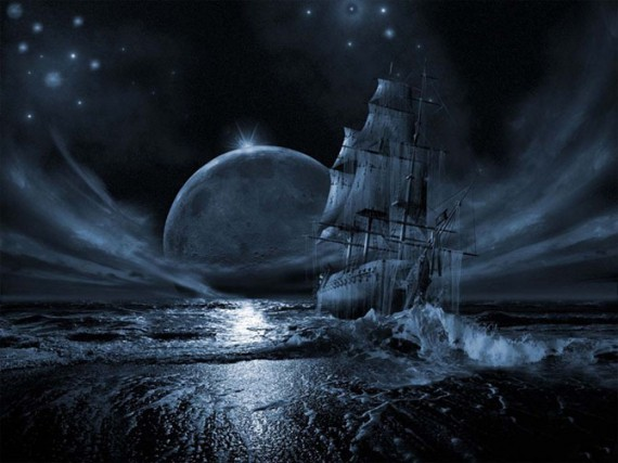 Ghost ship series: Full moon rising It is hardly possible to deny a significant effect that our closest body in space has on the Earth.