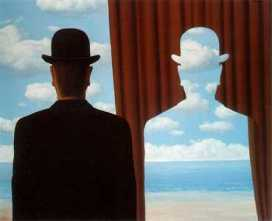 Rene Magritte. Decalcomania.