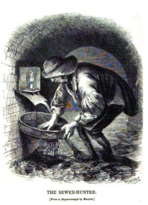 A tosher at work c.1850
