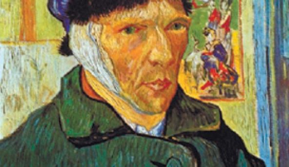 Vincent Van Gogh is known as the tortured genius who cut off his own ear,